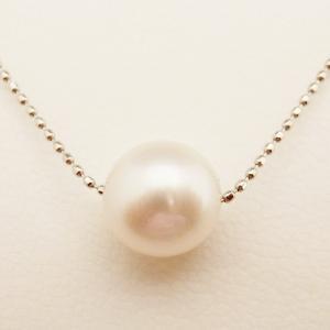 6月のお誕生石 Pt パール ネックレス|jewelry-watch-bene