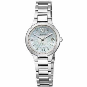 CITIZEN/シチズン XC/クロスシー 【限定♪】 ティタニア ミニソル ソーラー電波 レディース ES8090-56W|jewelry-watch-bene