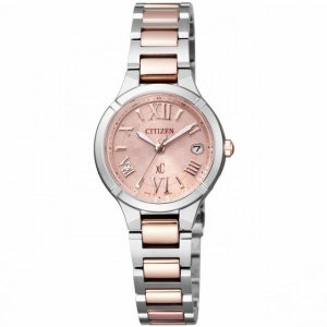 CITIZEN/シチズン XC/クロスシー ティタニア ミニソル ソーラー電波 レディース ES8085-56W|jewelry-watch-bene