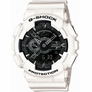 CASIO/カシオ G-SHOCK/ジーショック White and Black Series/ホワイト&ブラックシリーズ デジアナ ビッグケース GA-110GW-7AJF|jewelry-watch-bene