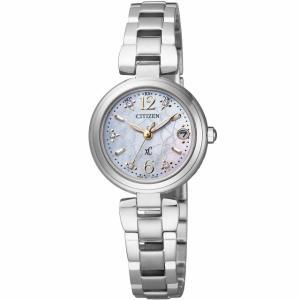 CITIZEN/シチズン XC/クロスシー 【限定♪】 MINISOL/ミニソル ソーラー電波 レディース ES8130-53W|jewelry-watch-bene