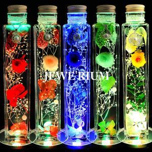 ハーバリウム 誕生日 ギフト セット ジュエリー ハーバリウム 光る プリザーブドフラワー ギフトランキング お中元 プレゼント 女性 花 LEDコースター付き