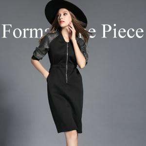 フォーマルドレス 結婚式 レディース 黒 ワンピース お呼ばれ ミニワンピース きれいめ ドレス お呼ばれドレス 二次会 大きいサイズ|jewelryhills