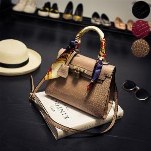 【在庫限り】 ショルダーバッグ ショルダー ハンドバッグ 手提げバッグ 手提げ鞄 手提げ クロコダイル バッグ 鞄 2way シンプル ベーシック レディース jewelryhills
