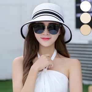 帽子 麦わら 麦わら帽子 ハット レディース リボン 紫外線対策 リボンハット 紫外線|jewelryhills