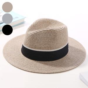 帽子 ハット ツバ広 つば広 つば広帽 レディース ストローハット 紫外線対策 麦わら 麦わら帽子 ブラック 黒|jewelryhills
