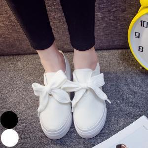 【SALE】 スニーカー レディース 白 靴 シューズ 厚底 厚底シューズ 厚底スニーカー シンプル ブラック ホワイト|jewelryhills