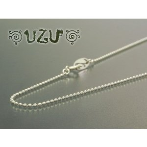 NE-411 【UZU】 1.2mmボールチェーン 40cm