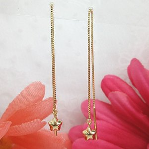 ピアス-1620-1621 K18 K18ピンクゴールド  アメリカンピアス ホシ スター (1個=1ペア)|jewelrypetitpoint1