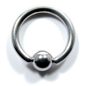 ボディピアス 10G キャプティブビーズリング 軟骨ピアス ピアス シルバー  リング シンプル メンズ レディース 金属アレルギー jewels-store