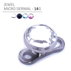 ボディピアス ボディーピアス ジュエルマイクロダーマル 14G|jewels-store