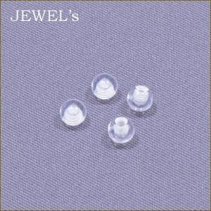 透明ピアス クリアスクリューボール 4個パック 14ゲージ用 ボディピアス 目立たない jewels-store