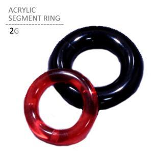 ボディピアス ボディーピアス アクリルセグメントリング 2G jewels-store