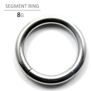 ボディピアス 8G ボディーピアス セグメントリング jewels-store