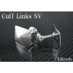 シルバー925 銀無垢 カフリンクス CLF-2 カフスボタン|jewelselect