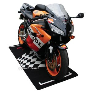 DUCATI ドゥカティ バイクマット ガレージに お部屋のインテリアマットとしても 190cm×80cm|jewelselect|02