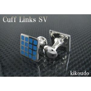 シルバー925 銀無垢 カフリンクス CLF-6B カフスボタン|jewelselect