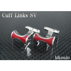 シルバー925 銀無垢 カフリンクス CLF-7R カフスボタン|jewelselect