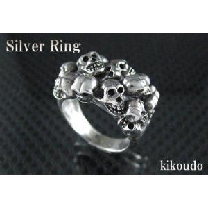 シルバー925 リング スカル 指輪|jewelselect