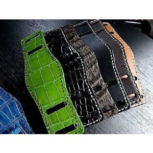 腕時計オーダーメイド クロコダイル革台座仕立てます フランクミュラー パテックフィリップ カルティエ ロレックス ブライトリング パネライ ブレゲ|jewelselect