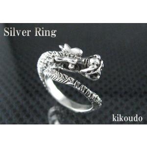 シルバー925 リング ドラゴン1 指輪|jewelselect