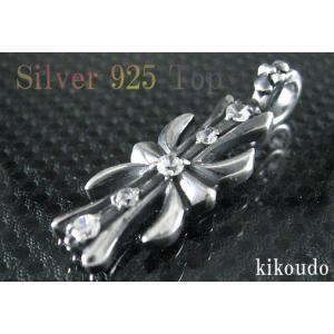 シルバー925 ペンダントトップ キュービックジルコニア|jewelselect