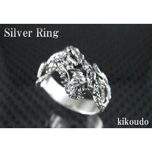 シルバー925 リング ドラゴン 指輪|jewelselect