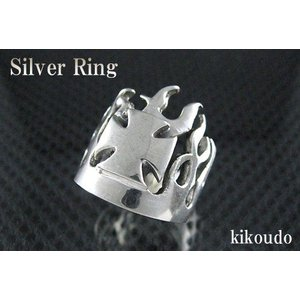 シルバー925 リング クロス 指輪|jewelselect