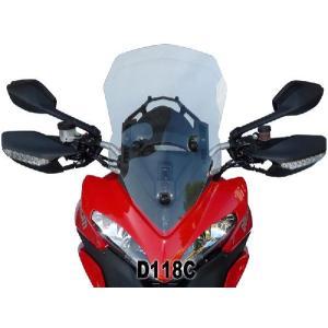 DUCATI ドゥカティ ムルティストラーダ1200-12 F.FABBRI クスクリーン カラー2色 イタリア製 新品未使用 バイク ツーリング|jewelselect
