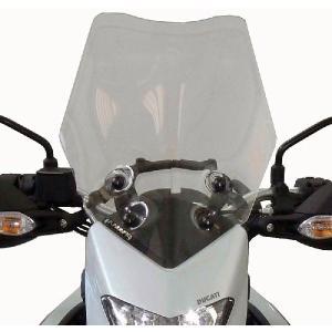 DUCATI ドゥカティ ハイパーストラーダ F.FABBRI スクリーン イタリア製 バイク ツーリング|jewelselect
