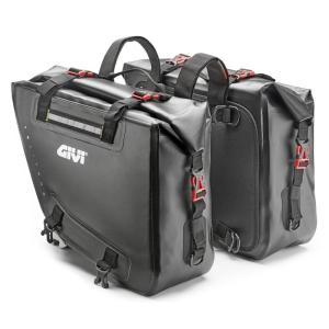 即納 GIVI ジビ GRT708 防水サイドバッグ 15L×2 モタード オフロード バイクに DUCATI KTM BMW HUSQVARNA|jewelselect
