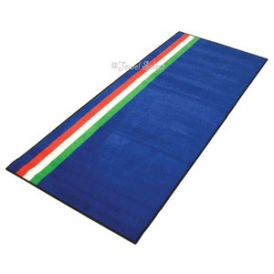 Italian Flag イタリア バイクマット ガレージに お部屋のインテリアマットとしても 190cm×80cm|jewelselect