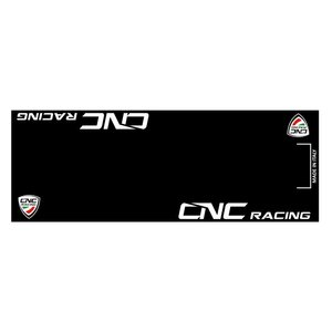 CNC Racing バイクマット ガレージに お部屋のインテリアマットとしても 220cm×80cm|jewelselect