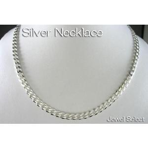 シルバー925 喜平6面カット チェーンネックレス 45cm|jewelselect
