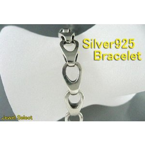 シルバー925 ブレスレット リング 21.5cm|jewelselect