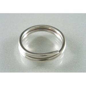 シルバー925 キーリング スプリング|jewelselect