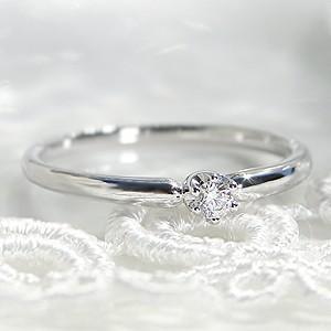 ☆品格ある輝きのプラチナのアームに、上質ダイヤモンドをセットしたシンプルデザイン!  輝きの綺麗なダ...