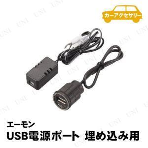 取寄品  エーモン USB電源ポート 埋め込み用