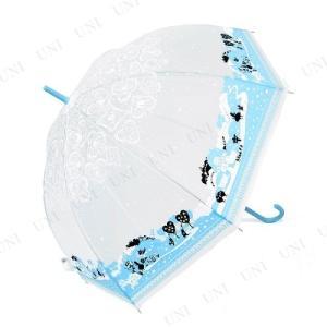 59cm ディズニー 不思議の国のアリス 総柄 手開き ビニール傘 子供用