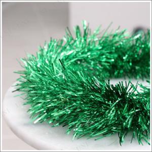 クリスマス ツリー オーナメント インテリア 200cmパーティーモール(単色/グリーン)