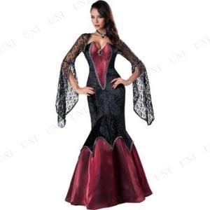 本格的なバンパイアコスチュームをお探しの方に!高級感のあるゴシックテイストの夜会ドレスです。印象的な...
