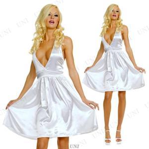 58b58351d0847 クラシック マリリンモンロー SM 衣装 コスプレ ハロウィン 仮装 コスチューム 大人用 女性用 レディース