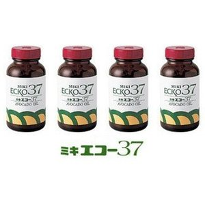 ミキエコー37 お得な3本セット 不飽和脂肪酸を含むアボカドオイル 100粒