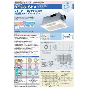 高須産業 浴室換気乾燥暖房機 BF-231SHA 1室換気タイプ スタンダードモデル|jfirst|02