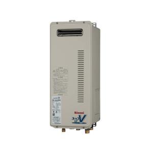 リンナイ ガスふろ給湯器 オート RUF-VSシリーズ スリムタイプ 20号 RUF-VS2005SAW 屋外壁掛・PS設置型 jfirst