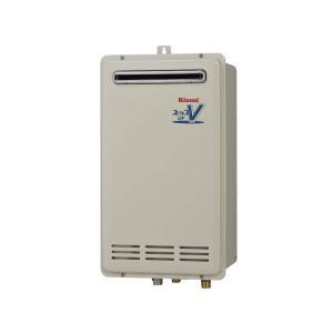 リンナイ ガスふろ給湯器 オート RUF-VKシリーズ コンパクトタイプ 16号 RUF-VK1610SAW(A) 屋外壁掛・PS設置型|jfirst