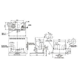 富士工業 レンジフード シロッコファン ecoフード 900間口 ブラック/ホワイト SERL-EC-901-BK/W|jfirst|02