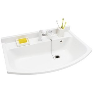 パナソニック洗面化粧台 エムライン W600 H1800用 蛍光灯1面鏡 くもり止め加工無 シングルレバーシャワー水栓 GQM60K1NMK+GQM60KSCW|jfirst|02