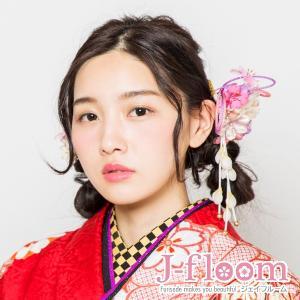 成人式 髪飾り 振袖 髪飾り マーガレット ホワイト KimonoWalker non-noカタログ掲載商品 jfloom