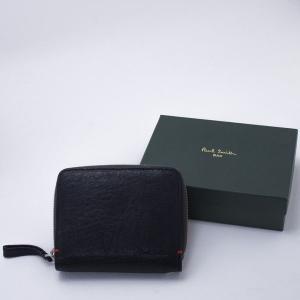 Paul Smith(ポールスミス)二つ折りチャック付財布(ブラック)|jfulstore